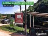 Koh Lanta, Thailand - Lanta Animal Welfare Entrance