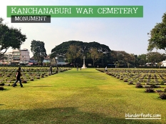 Kanchanaburi War Museum, Thailand - Monument